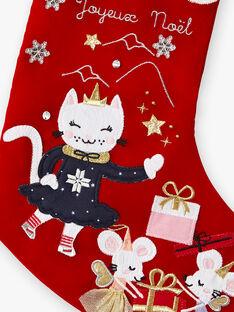 Chaussette de Noël petit enfant fille  VOJAKETTE / 20H4PFK1ACD717