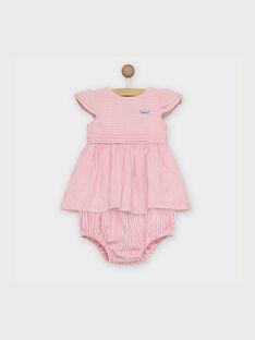 Light rose Dress RAKLELIA / 19E1BFF1ROB318