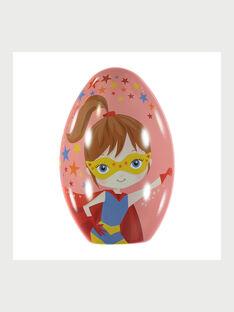 Œuf de Pâques Héroïne avec cape à colorier RAVOPETTE / 19E2PFG4CPO000