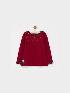 Dark burgundy T-shirt PADUSSETTE / 18H2PFD4TML503