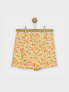 Yellow Shorts RYFLOETTE / 19E2PFH1SHO010