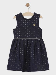 Navy Chasuble dress SEULOETTE / 19H2PFP1CHS070