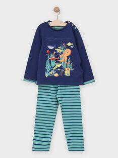 Pyjama petit garçon  TEBYSSAGE / 20E5PG78PYJC214