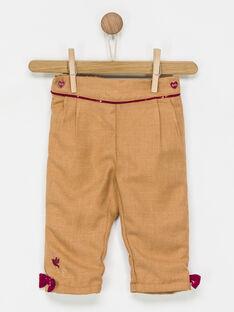 Light brown pants PANGELA / 18H1BFK2PAN804