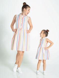Off white Chasuble dress RAFARAEF / 19E2FFY2CHS001