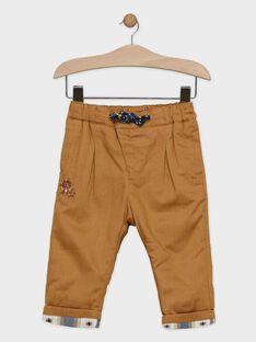 Brown pants SARUSSEL / 19H1BGI1PAN817