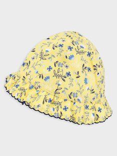 Chapeau imprimé fleuri bébé fille  TAOLGA / 20E4BFO1CHA103