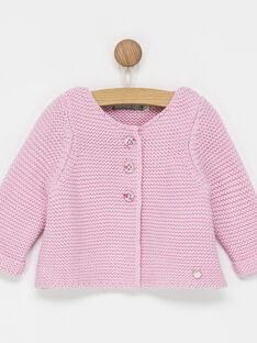 Cardigan parme PERRINE / 18H0NFN1CAR320