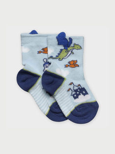 Water blue Socks RAARNOLD / 19E4BG21SOQ213