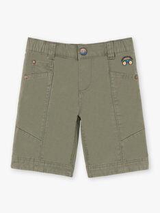 Bermuda kaki enfant garçon TOPOAGE / 20E3PGQ2BER604