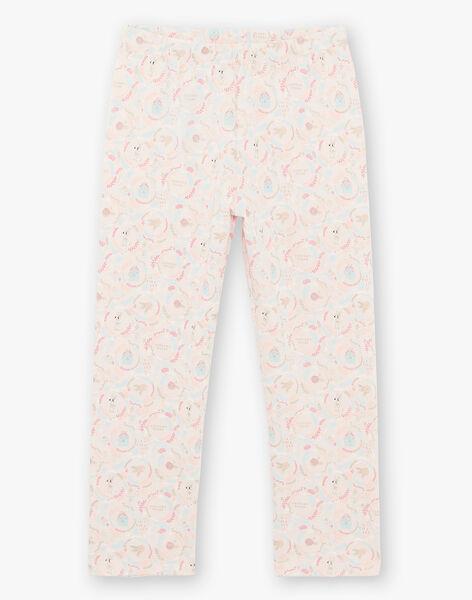 Pyjama rose claire en jersey  ZEPOMETTE / 21E5PF15PYJD328