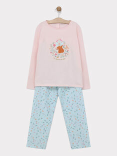 Old rose Pajamas SYRANETTE / 19H5PF54PYJ303