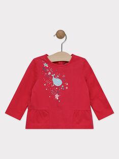 Tee Shirt Manches Longues Rose SANOEL / 19H1BFE2TML308