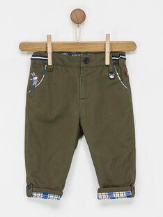 Pantalon kaki PAOWEN / 18H1BGK1PAN609