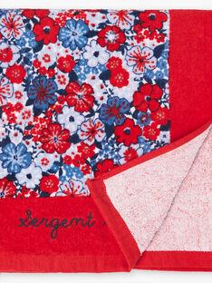 Serviette Rouge ZAIVYETTE / 21E4PFR1SRV050