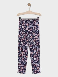 Pantalon imprimé floral fille TAEFIETTE 1 / 20E2PFM3PAN711