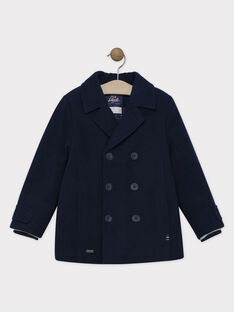 Navy Coat SAMANTOAGE / 19H3PGF1MAN715