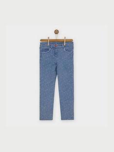 Blue denim Jeans RAFIOZETTE / 19E2PFC1JEA704