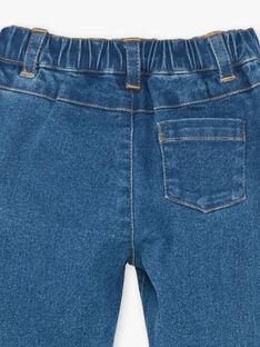 Pantalon en denim bleu moyen ZAFLORINE / 21E1BFB1JEAP269