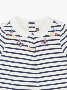 Body tee-shirt manches courtes à rayures ZAFLEUR / 21E1BFB2BOD632