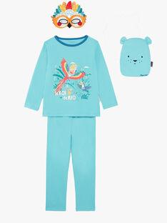 Pyjama Turquoise ZIPIMAGE2 / 21E5PGF1PYTC216