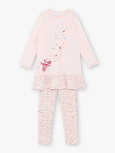 Pyjama rose en jersey  ZEOIZETTE / 21E5PF12CHND327