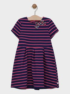 Navy Dress SIJOLETTE / 19H2PF42ROB070