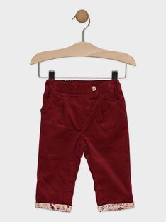 Red pants SAPETUNIA / 19H1BFI1PANF511