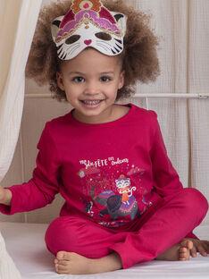 Pyjama Rose ZEPYGETTE 1 / 21E5PFF3PYTD302