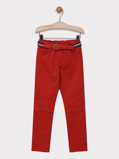 Red pants SAMABAGE 3 / 19H3PG95PANF526