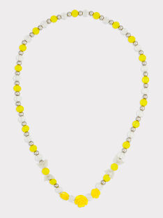 Collier jaune RYECHETTE / 19E4PFS1CLI106
