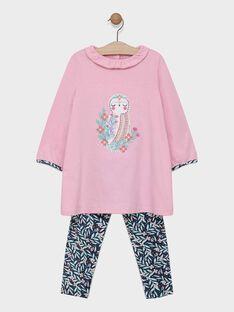 Pink Night dress SYVILETTE / 19H5PF52CHND309