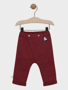 Pantalon à fines rayures bébé garçon  SAORTON / 19H1BGE1PAN503