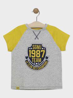 Heather grey T-shirt SAPOAGE / 19H3PGD1TMC943