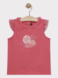 Tee Shirt Manches Courtes Rose TYATETTE / 20E2PF11TMCF507