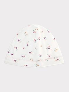 White Newborn cap SYANGIE / 19H0AF12BNA000