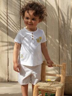 Bermuda bébé garçon beige  TARADEK / 20E1BGQ1BER806