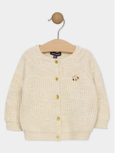 Dark off white Cardigan SAPAULINE / 19H1BFI1CAR003