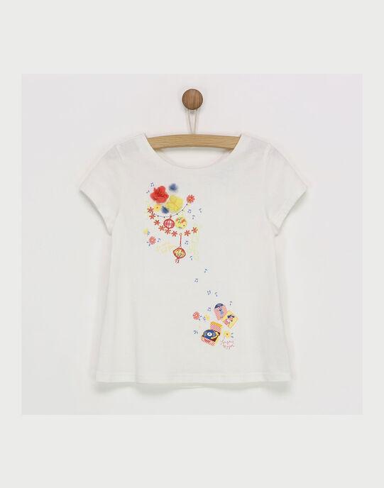 Off white T-shirt RYNOUETTEX / 19E2PFH4TMC001