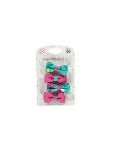 Pink Hair clip ROYTETTE / 19E4PFK8BRTD302