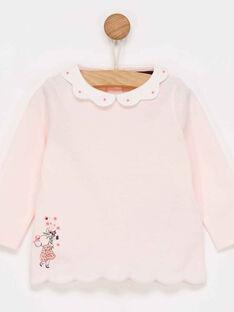 Pale rose Baby blouse PALOU / 18H1BFH1BRA301