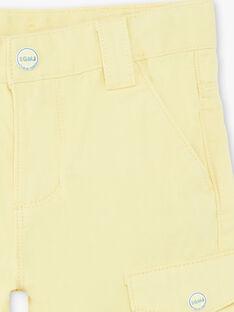 Bermuda cargo jaune  ZELOUAGE / 21E3PGO1BERB104