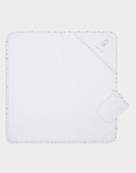 White TOWET+GLOVE SYATOUPI / 19H0AF11POI000