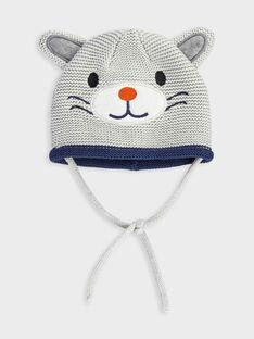 Bonnet gris chiné PADANI / 18H4BG61BON943