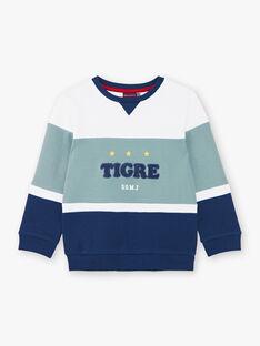 Sweat colorblock tigre ZAGRELAGE / 21E3PGI2SWE705