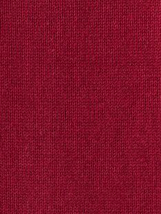 Cardigan prune en maille fantaisie VAELISE / 20H1BF61CAR709