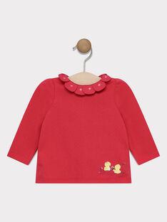 Pink Baby blouse SACARINE / 19H1BF31BRAD325