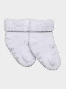 Chaussettes blanc RYALF / 19E0AM11SOQ001