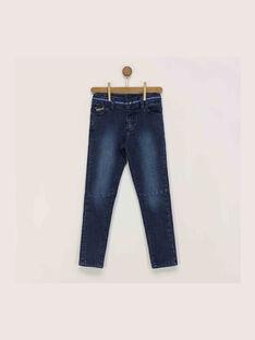 Jeans bleu jean REFLAGE / 19E3PGC1JEA704