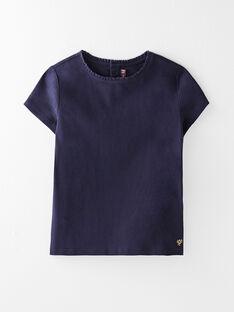Tee Shirt Manches Courtes Bleu marine VETISHETTEX 4 / 20H2PFC4TMC705